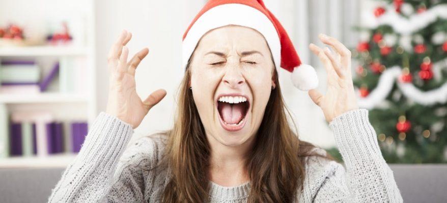 ridurre lo stress durante le vacanze di natale