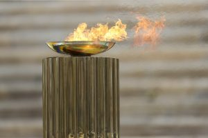 fuoco delle olimpiadi