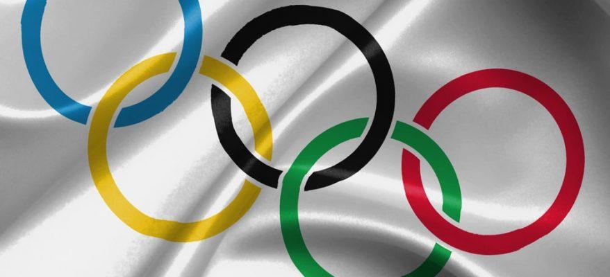 bandiera delle olimpiadi
